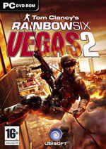 Tom Clancy's Rainbow Six Vegas 2 box
